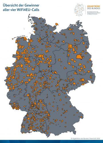 Übersicht der deutschen Gewinner