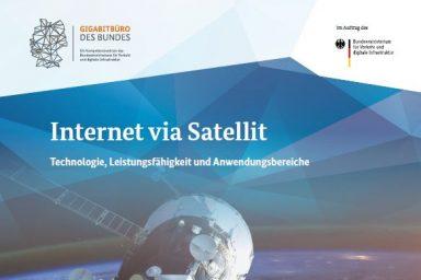 "Cover der Publikation ""Breitband via Satellit"""