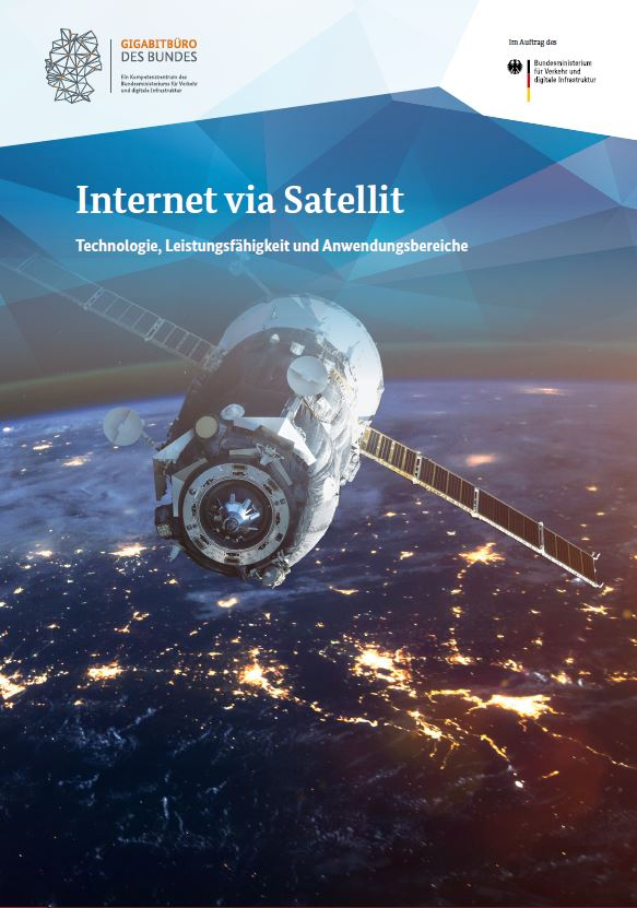 "Cover der Publikation ""Breitband via Satellit"""