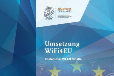 "Cover des Flyers ""WiFi4EU - Kostenloses WLAN für alle"""